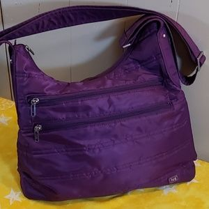 Lug Living in Color Hobo Crossbody Bag